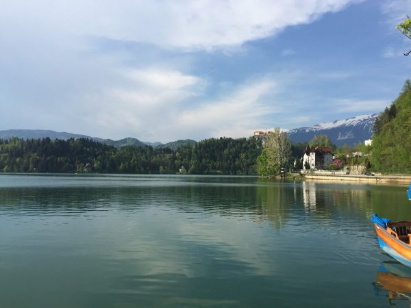 Bled Lake, Slovenia. TULIP trip with president