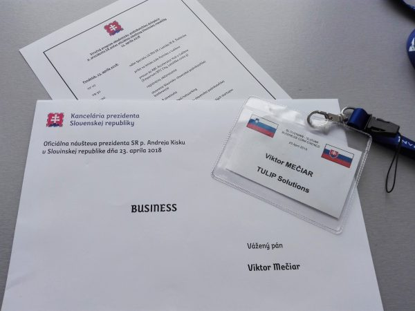 Viktor´s programme on the business mission with Slovak president Kiska in Slovenia