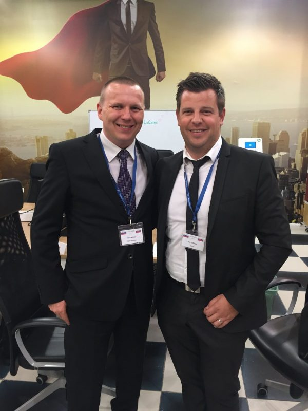 Viktor and Blaž met at Business forum in Slovenia, TULIP meets UNIJA