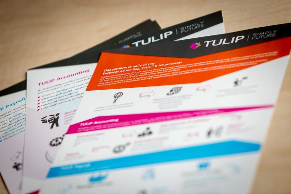 TULIP presenting AI solution in e-accounting at 2018´ Prague conference